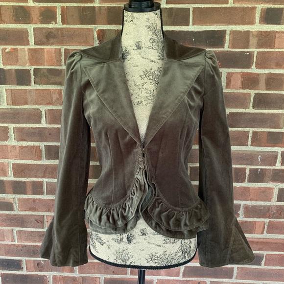 Laundry By Shelli Segal Jackets & Blazers - Laundry by Shelli Segal velvet blazer jacket